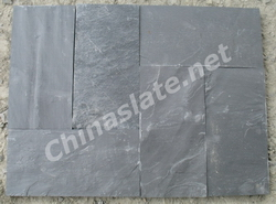 chinese tile flooring slate black