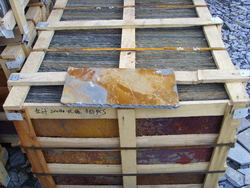 rust roofing slate factory packing