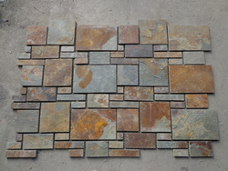 natural slate rusty color pattern