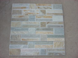 Tumbled wall cladding stone