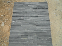 Black Slate Rough Surface wall stone