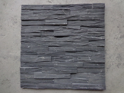 Black Slate rough wall cladding stone
