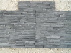 Black Slate 15*60cm wall stone rough