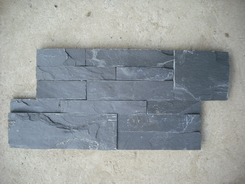 Black Slate interlock ledge stone