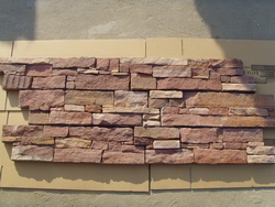 red_sandstone_cement_wall_stone