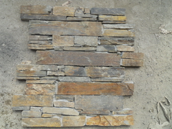 rusty_color_slate_cement_ledge_wall_stone
