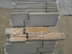 cement wall cladding stone corners