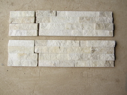quartzite white color corner for wall