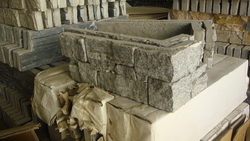 granite cement stone wall cladding corner