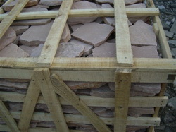 sandstone flagstone packing