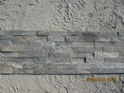 Natural green Quartzite Wall Stone