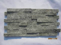 green quartzite wall stone factory