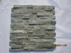 green quartzite wall ledge stone