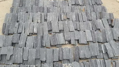 black slate loose stone factory
