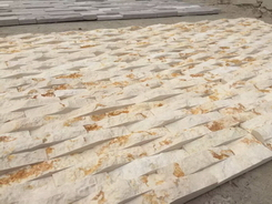 Egypt sunny golden marble wall cladding stone