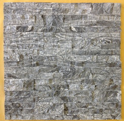 China tree black antique wood vein marble wall stone panel