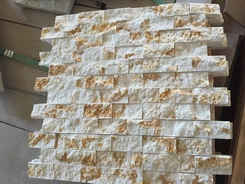 Egypt sunny golden marble wall stone