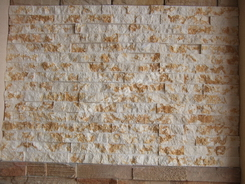 marble sunny beige stone wall cladding stone panel