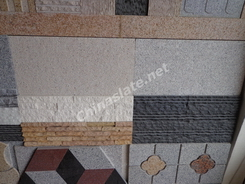 granite and marble tiles used for wall cladding