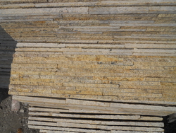 golden ledge wall stone