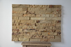 yellow sandstone ledge stone