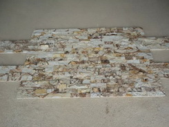 dust yellow cultured stone