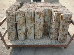 tree grain sandstone yellow quartzite ledge stone veneer