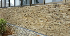 wall cladding ledge stone project