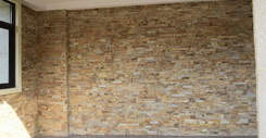 classical wooden sandstone cladding interior decorative wall stone