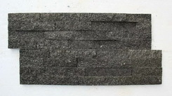 natural black quartzite stone brick
