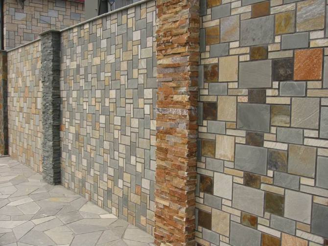 wall cladding slate pattern and veneer