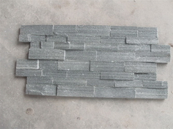 grey rough wall cladding stone panel