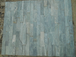 green slate ledge wall stone