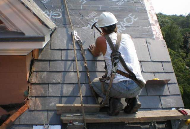 How To Repairing Slate Roofs